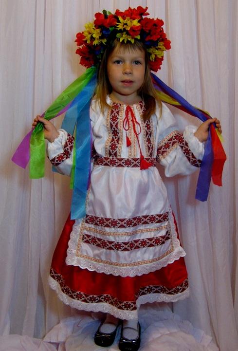 Украинский костюм женский сшить своими руками 53
