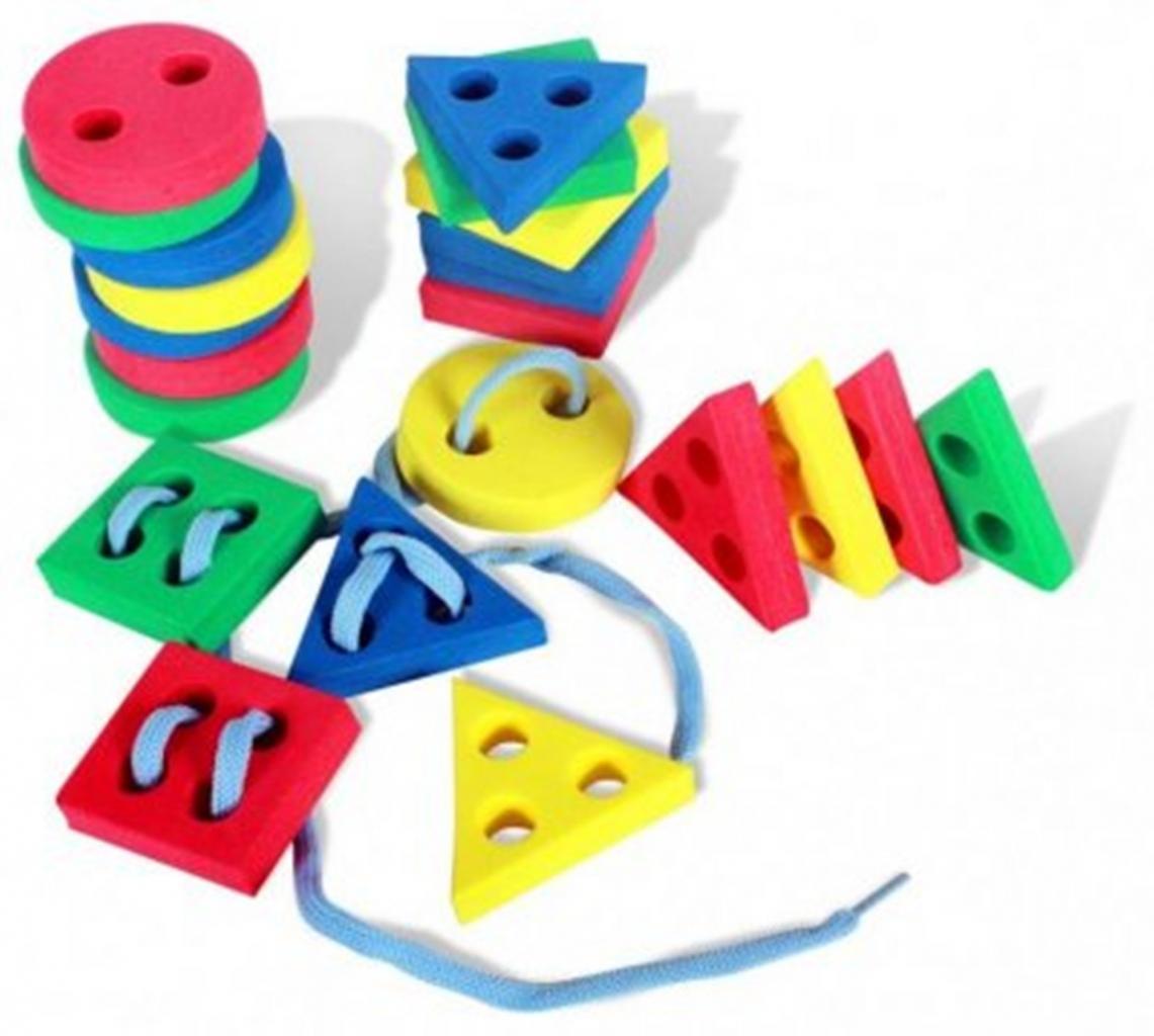 Игрушки со шнуровкой своими руками