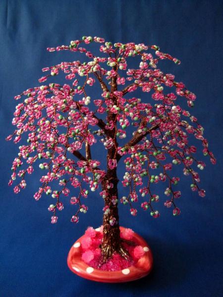 Творческий проект бисерное дерево