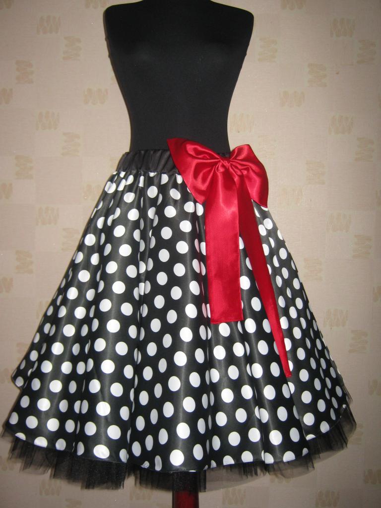 Платье 60-х годов с пышной юбкой своими руками 21