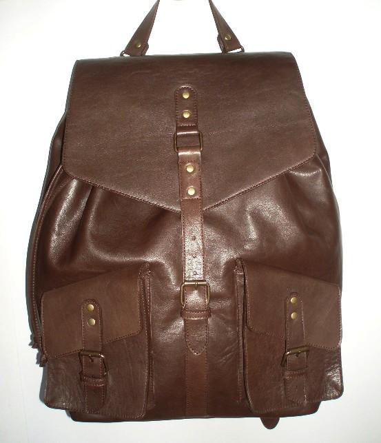 Стильный рюкзак из кожи своими руками
