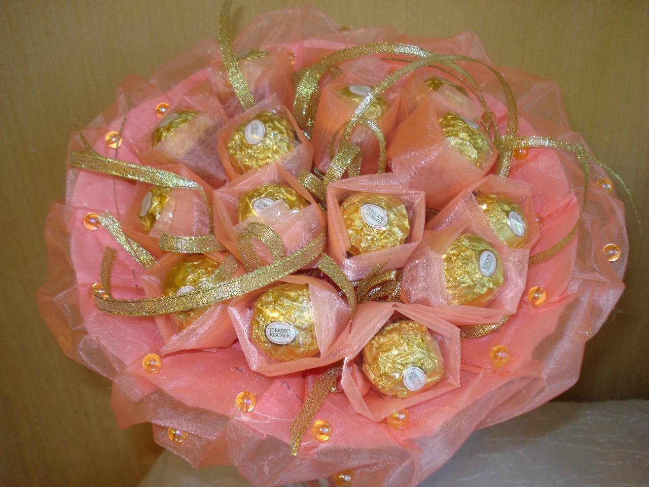 Букеты из конфет своими руками ферреро
