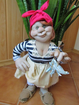Кукла своими руками из синтепона