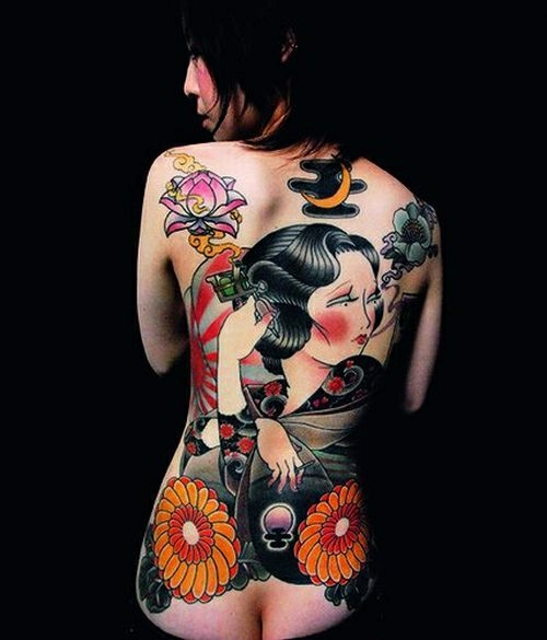 body art and the asian culture