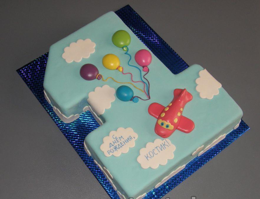 Тортик на годик для мальчика своими руками