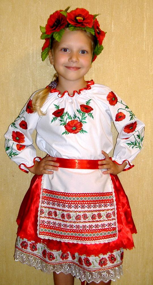 Украинские вышиванки для девочек своими руками