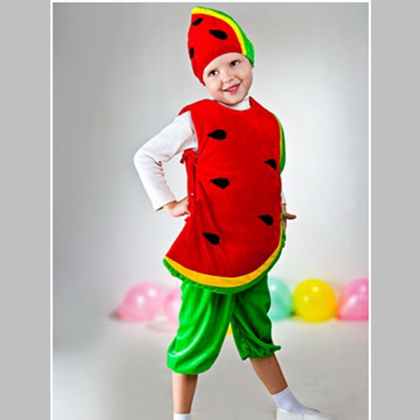 Костюм овоща в детский сад
