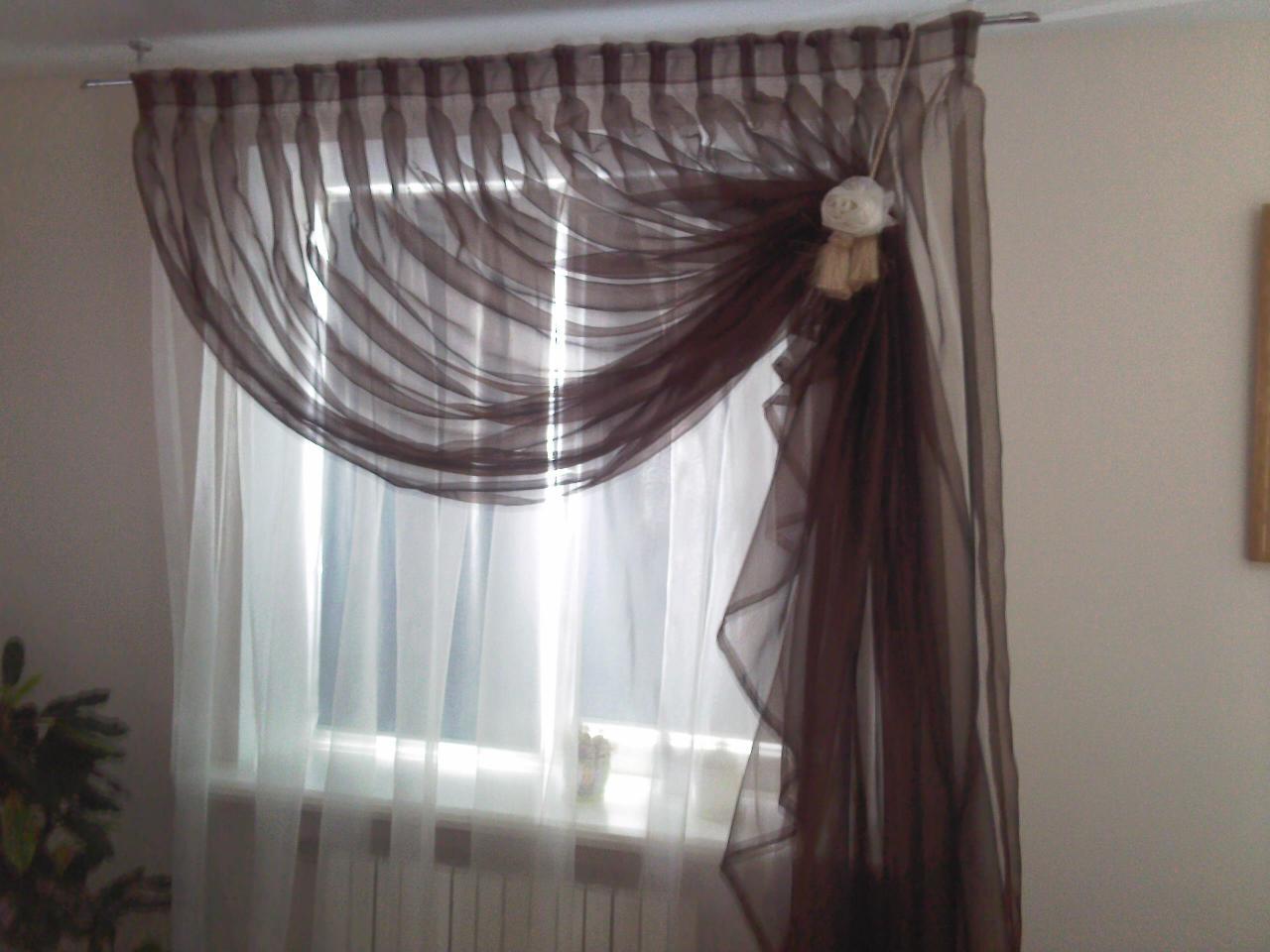 как шьют шторы с ламбрекенами