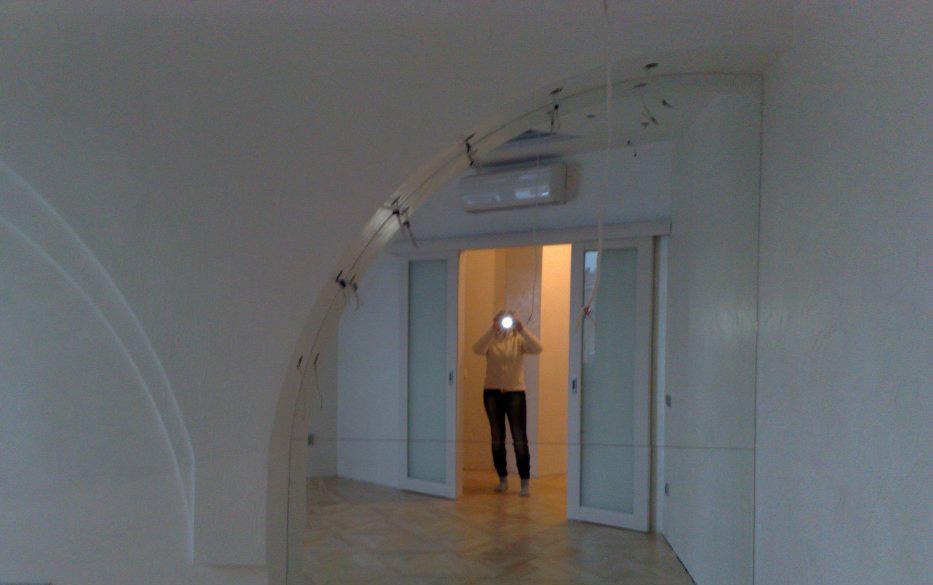 Полукруглая арка из гипсокартона