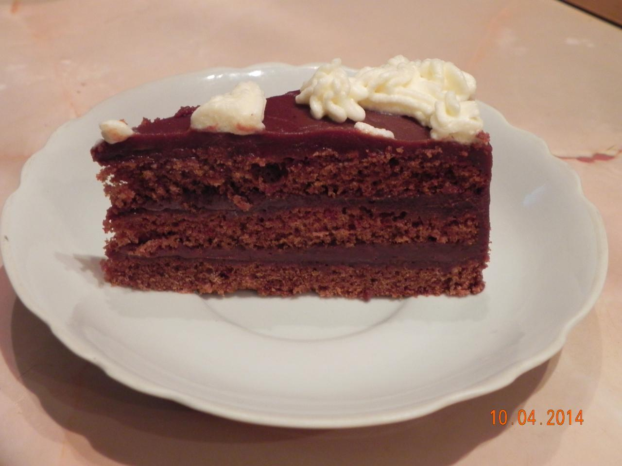 шоколадный торт \сладость мечтаний\